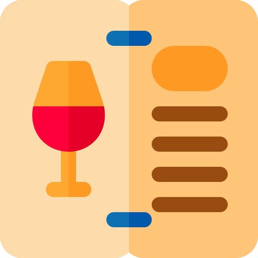 Wine Menu Icon Hotel Service Freepik