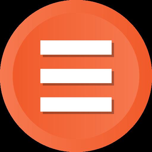 Hamburger, List, Menu, Options, Bars, Stack Icon Free Of Ios Web