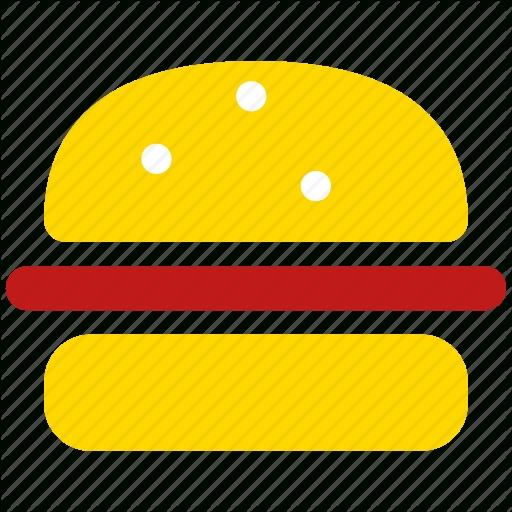 Burger, Dinner, Hamburger, Lunch, Meal, Menu, Sandwich Icon