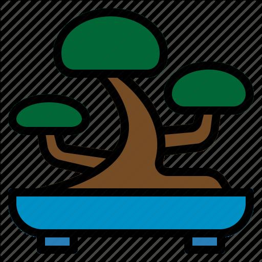 Bons Japanese, Planting, Small, Tray, Tree Icon