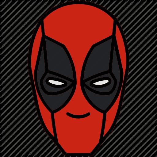 Deadpool, Marvel, Mask, Mercenary Icon