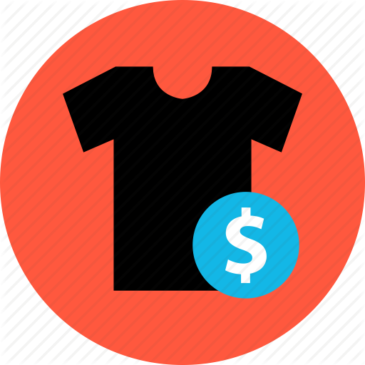 Bought, Buying, Merchandise, Shirt, Shopping, Sold, T Icon