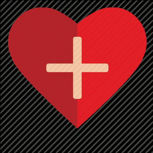 Add, Charity, Heart, Help, Mercy Icon