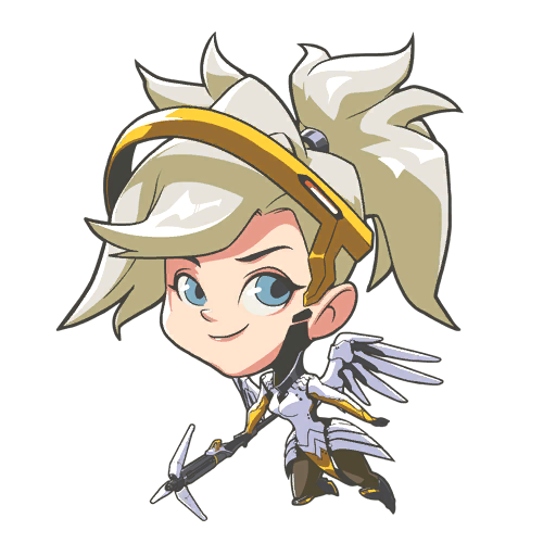 Collection Of Free Mercy Transparent Chibi Download On Ui Ex