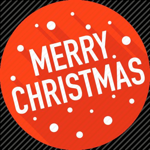 Merry Christmas Icon Christmas