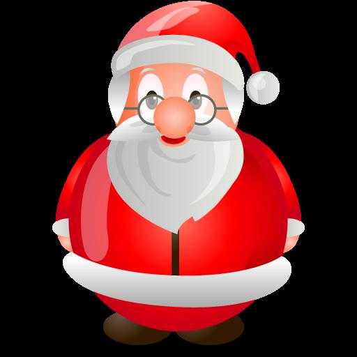 Xmas, Santa, Claus, Christmas Icon