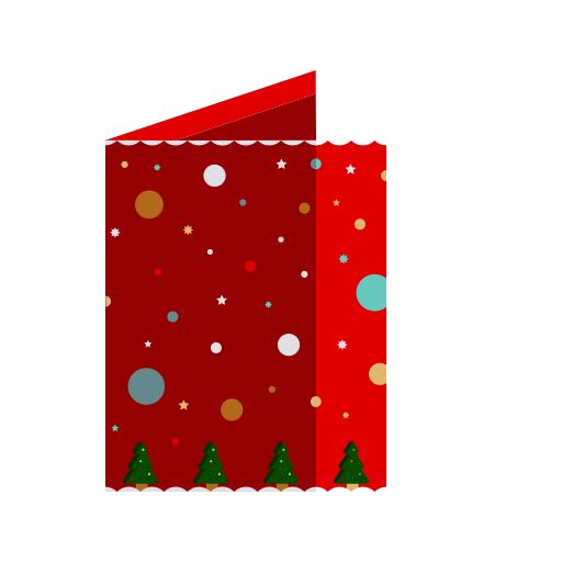 Card, Christmas, Greeting, Merry, Wishes Icon