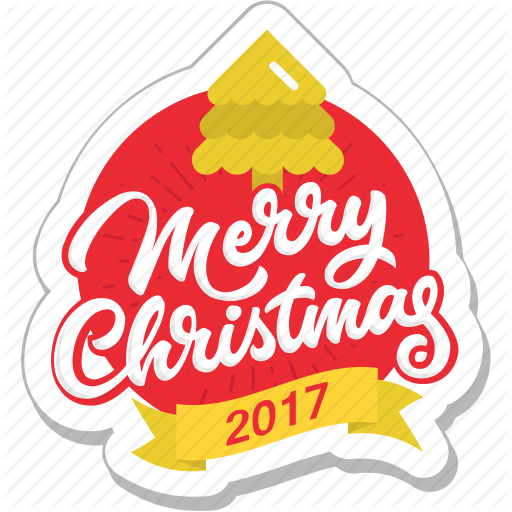 Celebration, Christmas, Decoration, Merry Christmas, Sticker Icon