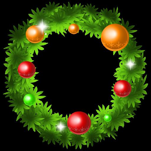 Christmas Wreath Icon Christmas Graphics Iconset