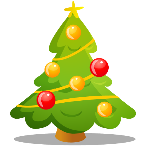 Christmas Tree Icons, Free Icons In Merry Christmas