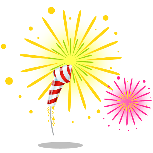 Fireworks Icons, Free Icons In Merry Christmas