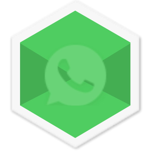 Social, Colorful, Whatsapp, Chat, Triangle, App, Message Icon