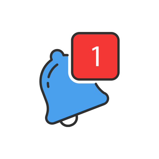 Bell, Notification, One Notification Icon Free Of Twitter Ui