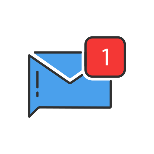 One Message, Notification, Envelope Icon Free Of Twitter Ui