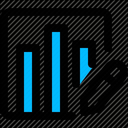 Analytics, Editor, Metrics, Report Icon