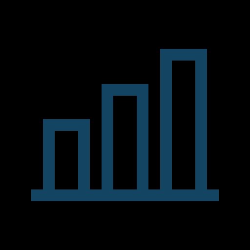 Analytics, Statistics, Bar Chart, Metrics Icon