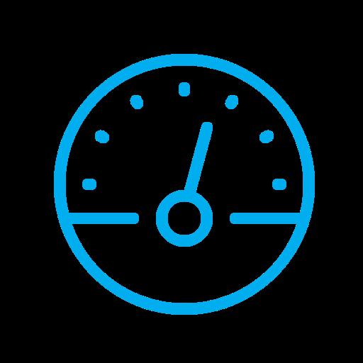 Speedometer, Scale, Metrics, Speed, Device Icon