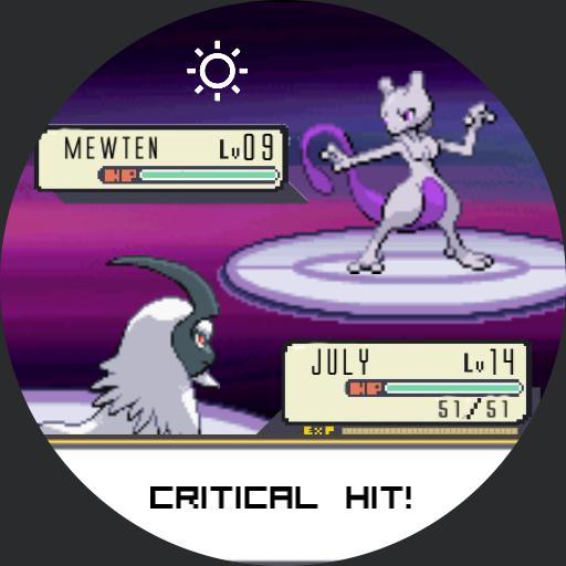 Pokemon Battle Mewtwo For Huawei Watch
