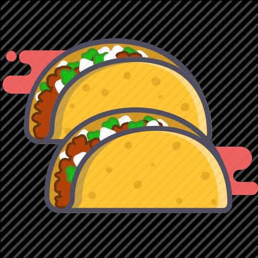 Food, Mexican Food, Tacos Icon