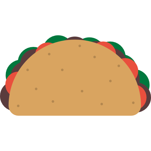 Mexico Icons, Mexican, Food, Foods, Mex Tacos, Typical, Taco Icon