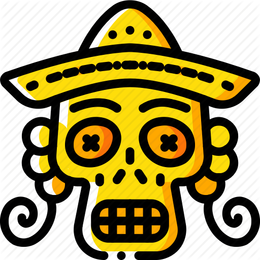 Day Of The Dead, Dead, Mexican, Mex Skull, Tradition Icon