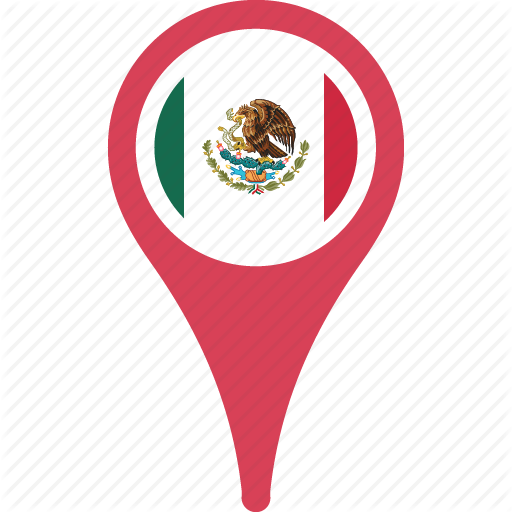 Country, Flag, Map, Mex Pn