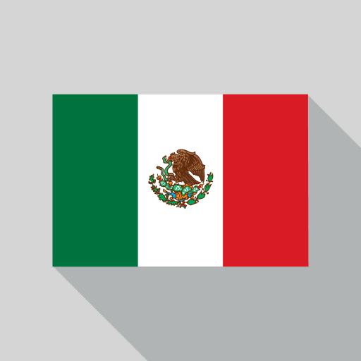 Mexico Flag Icon World Cup Country Flags Iconset Designbolts