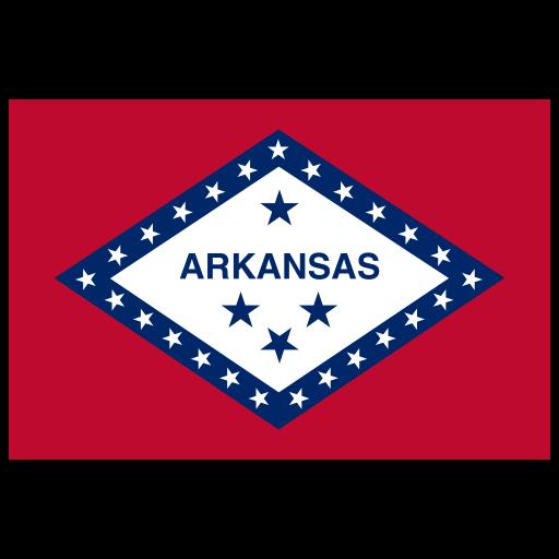 Us Ar Arkansas Flag Icon