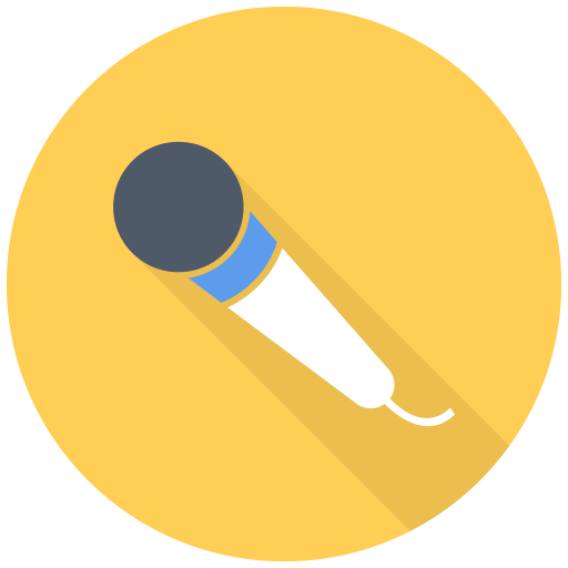 Simple, Mic Icon Free Of Free Flat Multimedia Icons