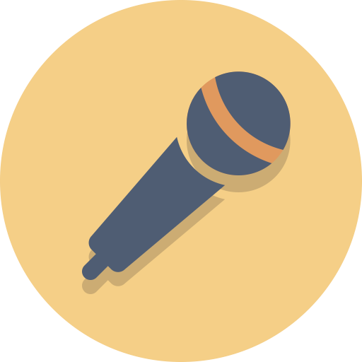 Audio, Mic, Microphone Icon