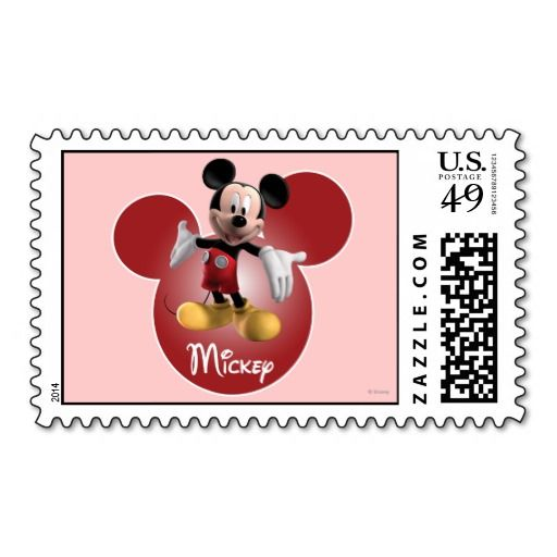 Mickey Mickey Clubhouse Head Icon Postage Mickey And Friends