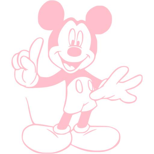 Mickey Mouse Symbol Pink Related Keywords Suggestions