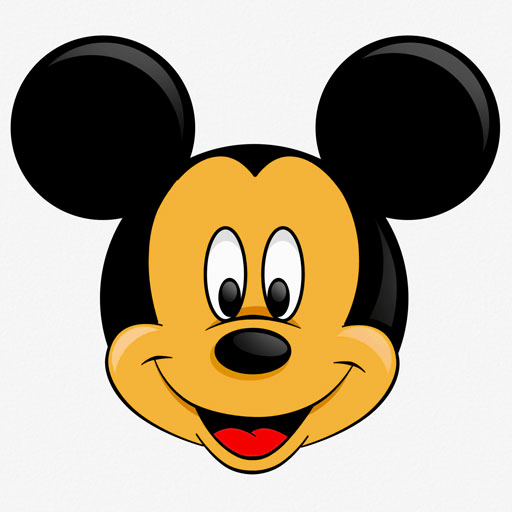 Official Mickey Mouse Head Clip Art