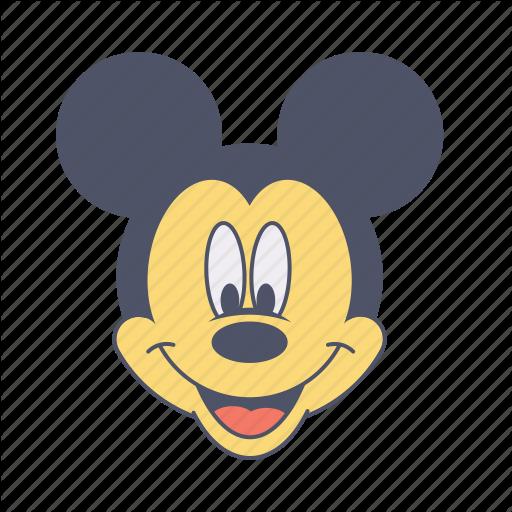 Cartoon, Enjoy, Fun, Mickey, Mouse Icon