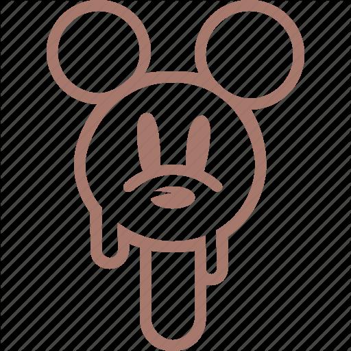 Cream, Ice, Ice Cream, Icecream, Mickey Mouse, Popsicle, Morozhenoe