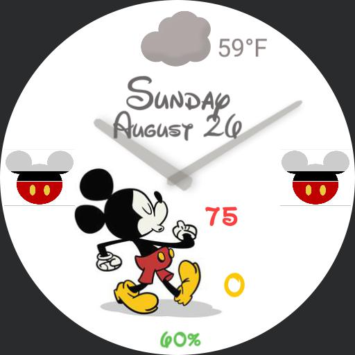 Enhanced Mickey Mouse For Watch Urbane