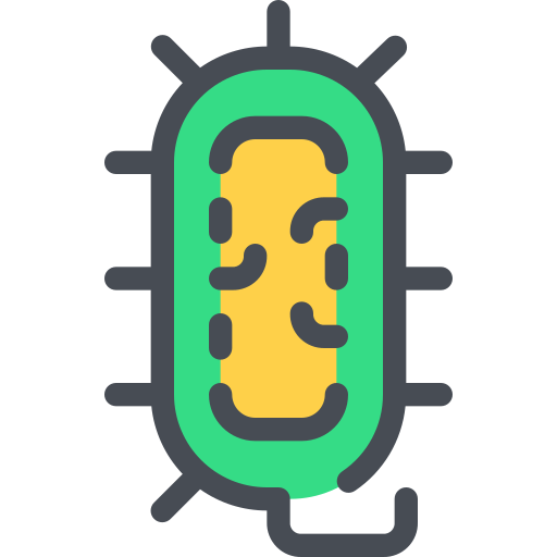 Bacteria Icon Free Of Free Color Mix