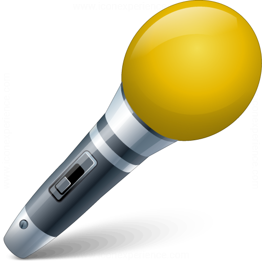 Iconexperience V Collection Microphone Icon