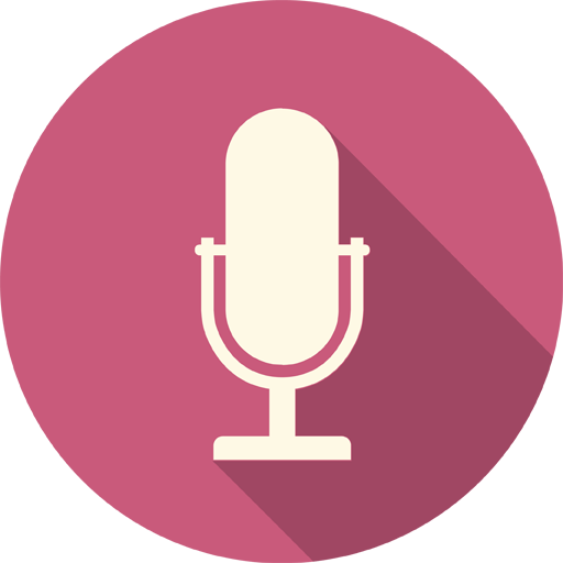 Microphone Icon Long Shadow Media Iconset Pelfusion