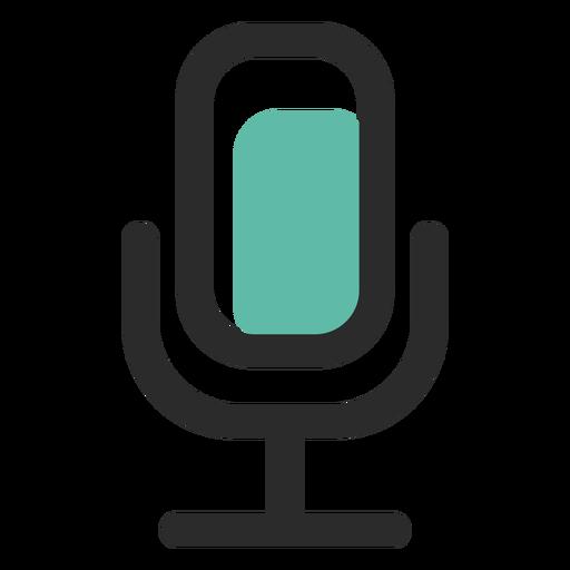 Microphone Colored Stroke Icon