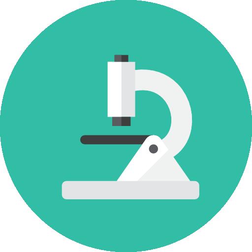 Microscope Icon Kameleon Iconset Webalys