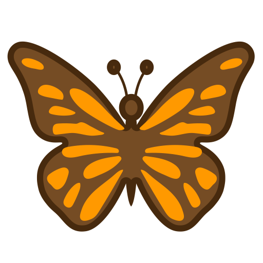 Butterfly Icon Noto Emoji Animals Nature Iconset Google