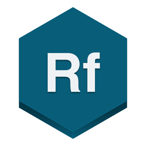 Edge Reflow Icon Hex Iconset