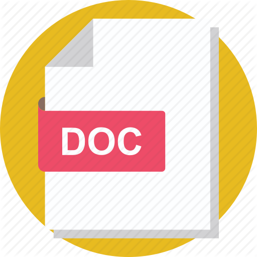 Doc File, Microsoft Word, Word Document, Word File, Word Folder Icon
