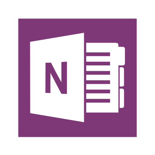 Microsoft, Office, Onenote, One, Note Icon Free Of Microsoft