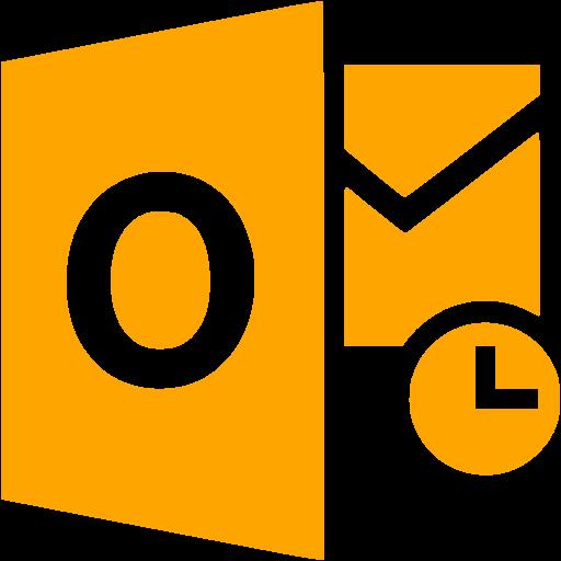 Orange Outlook Icon