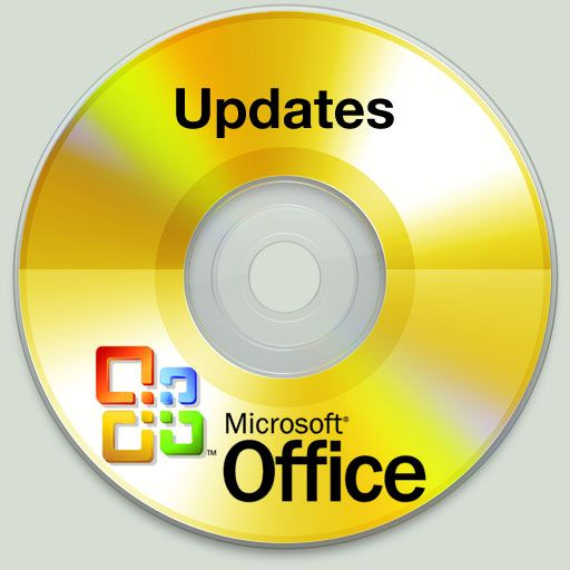 Glossy Microsoft Office Updates Icon Download