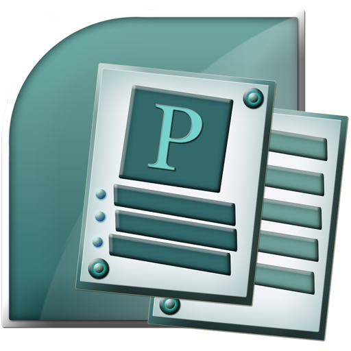 Microsoft, Publisher, Office Icon