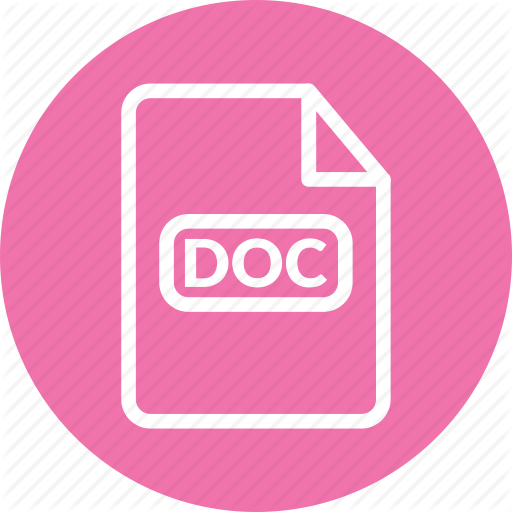 Doc, Doc File, Doc Format, Microsoft Word, Word Document Icon