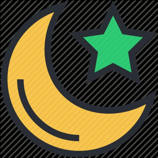 Dark, Evening, Midnight, Moon, Night, Night Time, Nightfall, Star Icon